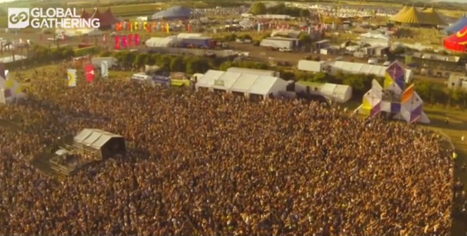 Global Gathering UK 2013 (Видео)